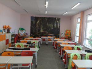 Почистване на училищни стаи